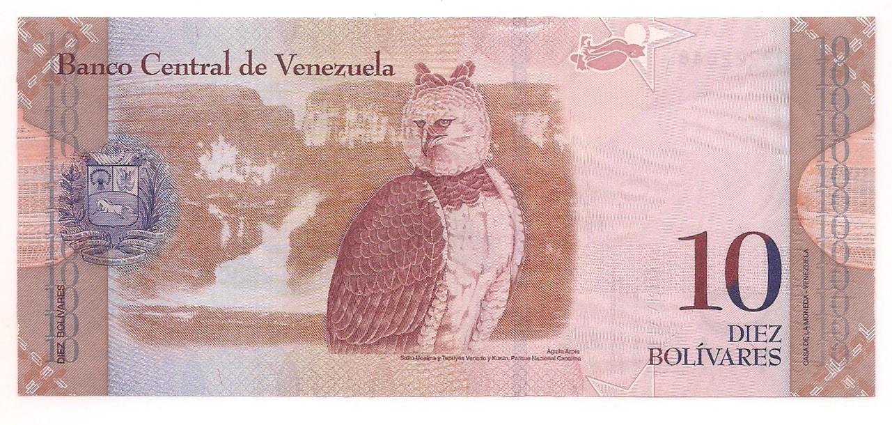 Venezuela - 10 Bolívares (Guaicaipuro) 2011