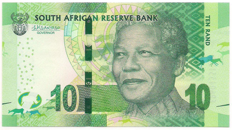 África do Sul - 10 Rand (Nelson Mandela) SOB