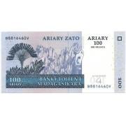 Madagascar - 100 Ariary FE 2004