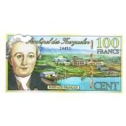 Arquipélago de Keguelen - 100 Francs 2010