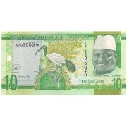 Gâmbia - 10 Dalasis (Yahya Jammeh) FE