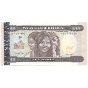 Eritreia - 10 Nafka FE 1997