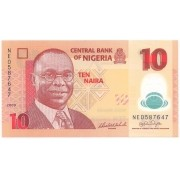 Nigéria - 10 Naira FE 2009 & 2010