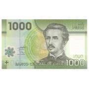Chile - 1.000 Pesos Ignacio Carrera Pinto 2010 Polímero