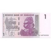 Zimbábue - 1 Dollar 2007