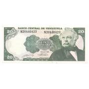 Venezuela - 20 Bolívares FE 1990