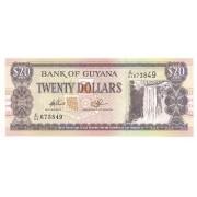 Guiana - 20 Dólares