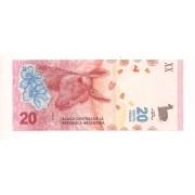 Argentina - 20 Pesos (Guanaco)
