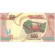 Madagascar - 500 Ariary FE