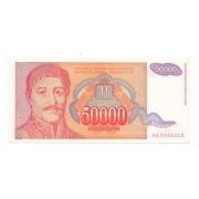 Iugoslávia - 50.000 Dinara FE 1994