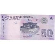 Nicarágua - 50 Córdobas FE 2007