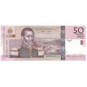 Haiti - 50 Gourdes Senkant Goud (François Cappoix) FE 2004