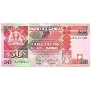 Uganda - 50 Shillings FE 1996