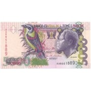 São Tomé e Príncipe - 5.000 Dobras (Papa Figo & Rei Amador e Empresa Agropecuária) 2013