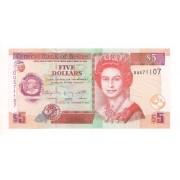 Belize - 5 Dólares 2011