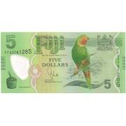 Fiji - 5 Dollars FE Polímero