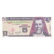 Guatemala - 5 Quetzales FE 2006