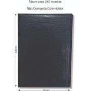 Álbum para 240 Moedas