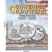 Álbum para Coleção EUA 1/4 Dolar Estados