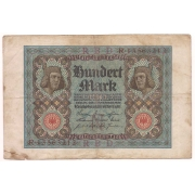 Alemanha - 100 Mark 1920