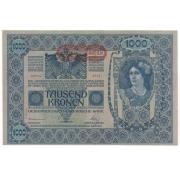 Áustria- 1.000 Kronen 1902