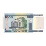 Belarus (Bielorússia) - 1.000 Rublos FE 2000