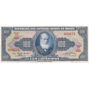 C-034 - 100 Cruzeiros Nº 000072/000073