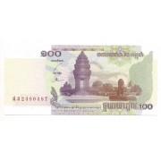 Cambodja 100 riels 2001