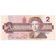 Canadá - 2 Dólares 1986