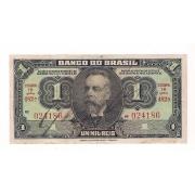 Cédula de UM MIL REIS - ano de 1923 - BRASIL.