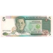 Filipinas - 5 Piso - FE