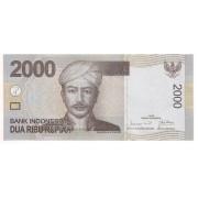 Indonésia 2.000 rupiah FE 2009