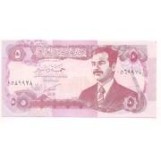 iraque 5 dinars 1992