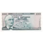 Islândia 100 Krónur 1961- FE