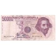 Itália - 50.000 Lire 1984