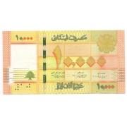 Líbano - 10.000 Livres (2012-2014)
