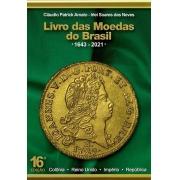 Livro das Moedas do Brasil 16ª edição - 1643 a 2021