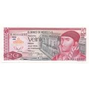 México - 20 Pesos 1973 - SOB/FE