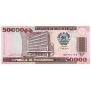 Moçambique 50.000 Meticais 1993 - FE