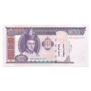Mongólia 100 Tugrik FE 2000