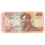Nova Zelândia 5 Dólares (Sir Edmund Hillary) - FE