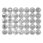 Quarter Dollar - Parques (Escolha a moeda desejada nas variedades)