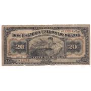 R-116 - 20 Mil Réis (20.000) 1911