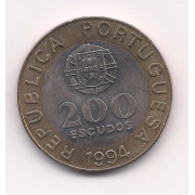 República Portuguesa - 200 escudos 1994