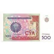 Uzbequistão 500 som 1999