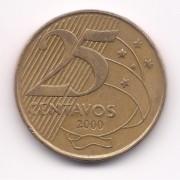 V508 25 Centavos 2000