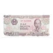 Vietnã 2.000 dong FE 1988