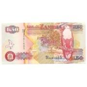 Zâmbia 50 Kwacha 2007 - FE