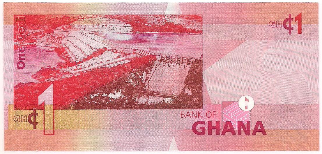 Gana - 1 Cedi 2014