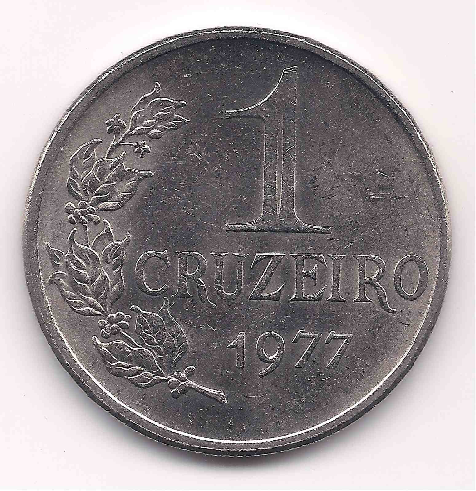 1 Cruzeiro 1977 - Escassa